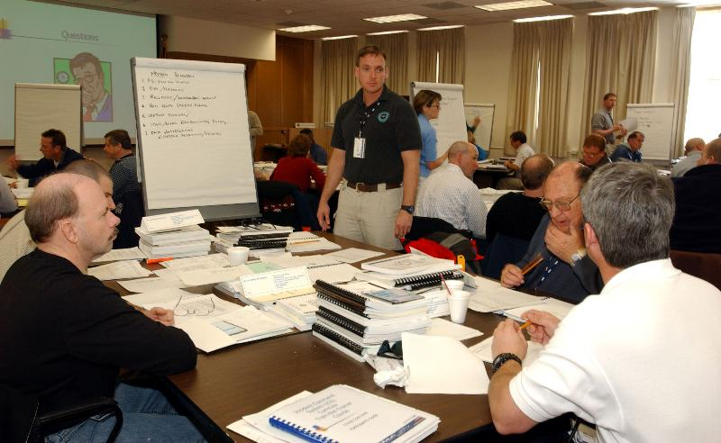 Picture of students attending a course at the FEMA Emergency Management Institute