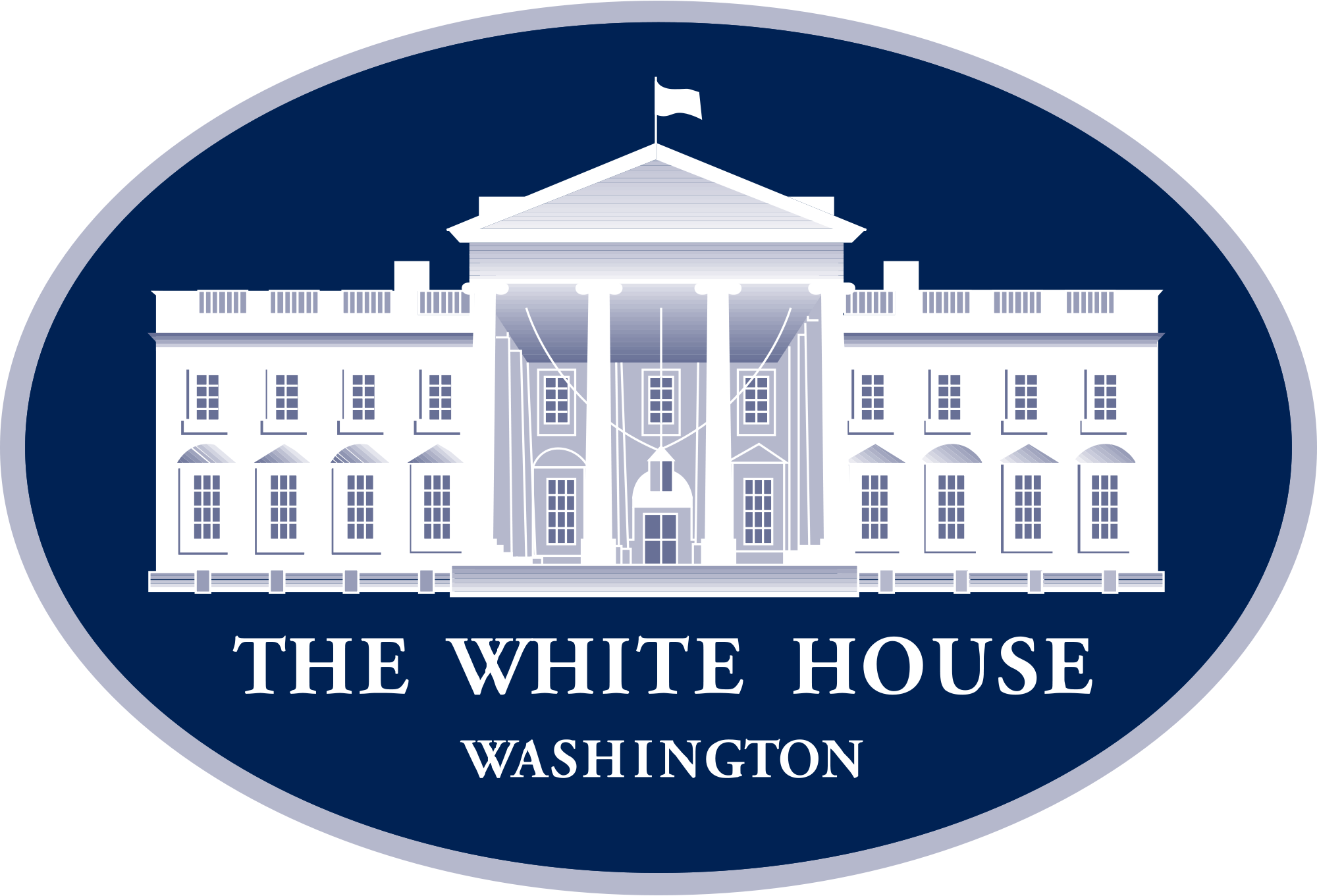 The official White House Logo