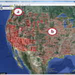 Screen capture of FEMA NFHL data within Google Earth.