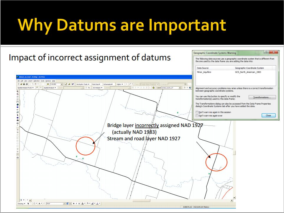 Screen capture of a presentation by Dr. Shawn Penman, EDAC.