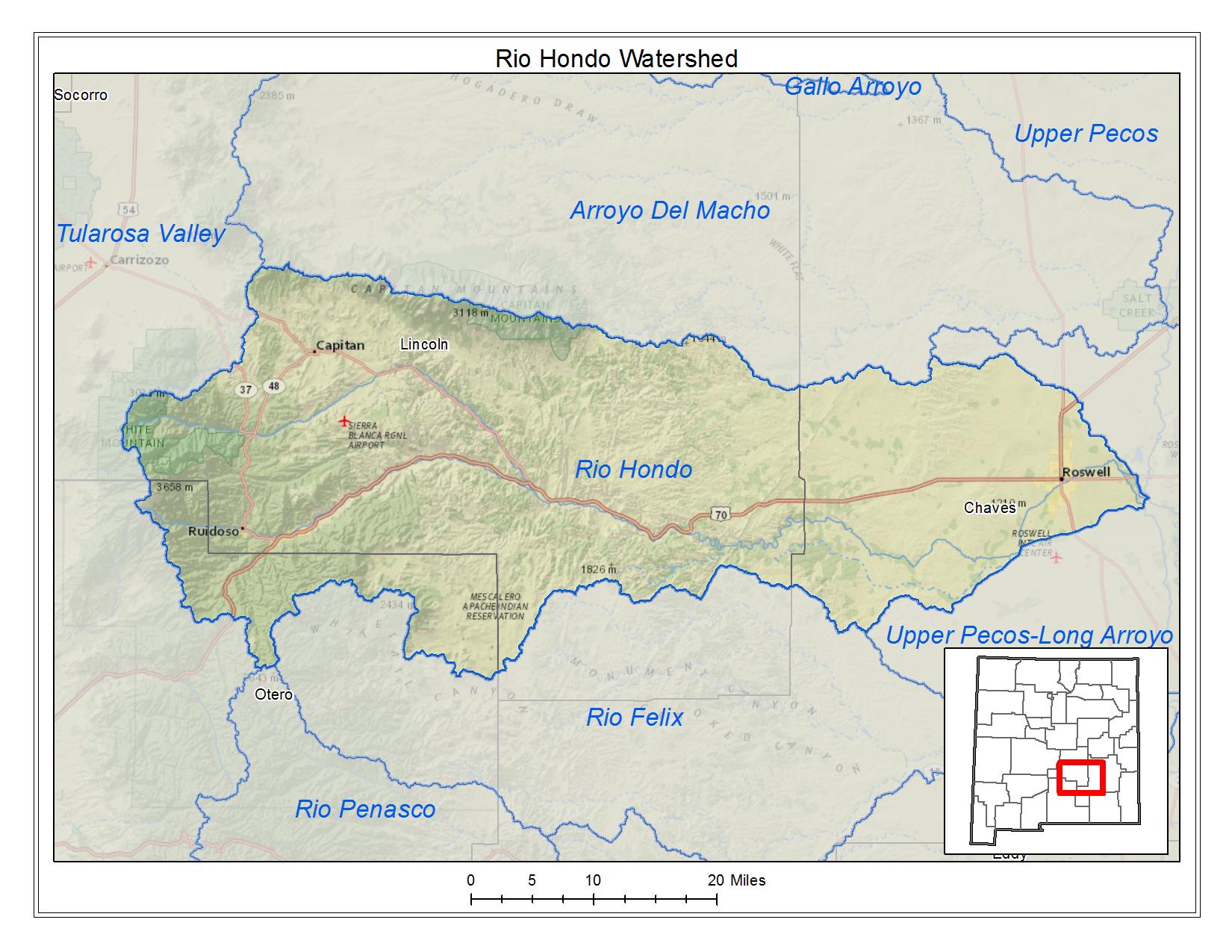 Rio Hondo Watershed